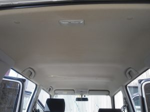 ルーフライニングクリーニング 天井内張清掃 ワゴンR MC21S