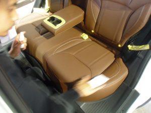 皮 レザー シートコーティング Advanced Leather クリアコート フォレスター ボディコーティング ガラスコーティング 磨き 研磨 艶出し ルームクリーニング シートクリーニング 春日井 小牧 尾張 愛知 edge